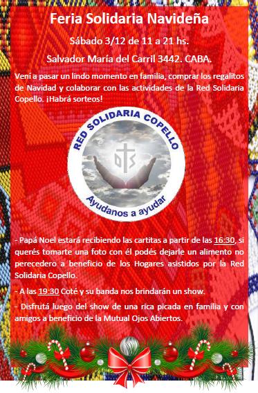 Feria Solidaria Navideña